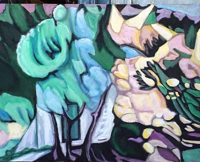 Painting - Inner Door by Enrique Ojembarrena