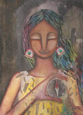 Mixed Media - Inner Engineering by Prerna Poojara