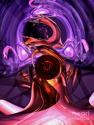Inner Feelings Abstract Art Print by Alexander Butler