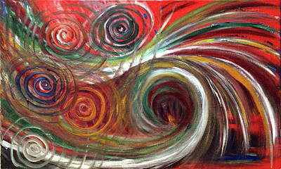 Painting - Inner Feelings by Elisabeth Dubois