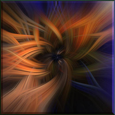 Digital Art - Inner Flame by Mark Myhaver