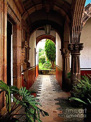 Patzcuaro Photograph - Inner Garden by Mexicolors Art Photography