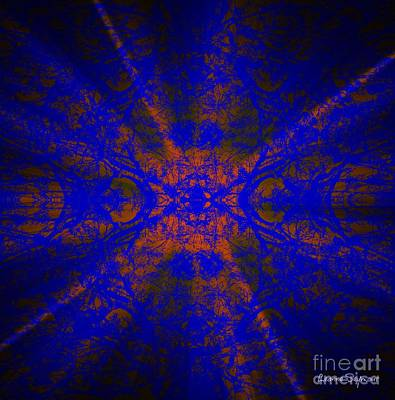 Mixed Media - Inner Glow - Abstract by Leanne Seymour