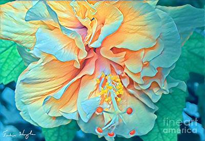 Digital Art - Inner Glow by Julie Hoyle