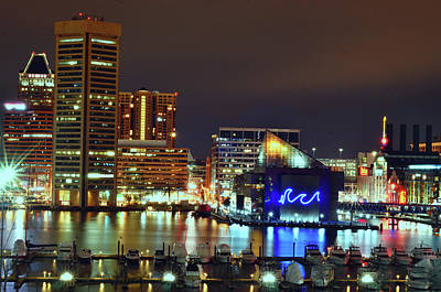 Photograph - Inner Harbor by La Dolce Vita