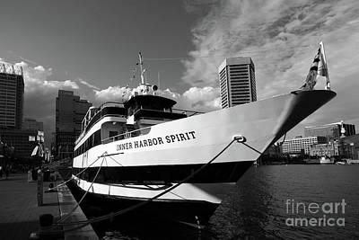Photograph - Inner Harbor Spirit Baltimore by James Brunker