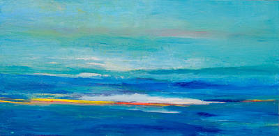 Chatham Mixed Media - Inner Landscapes V by Sirarpi Heghinian Walzer