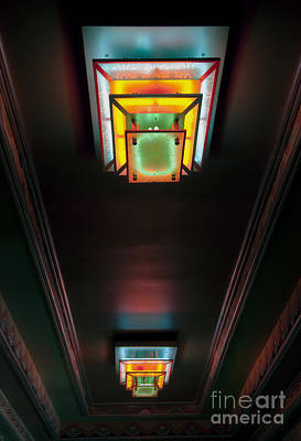 Photograph - Inner Lobby Neon by Fred Lassmann