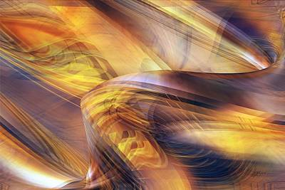 Digital Art - Inner Lucent by rd Erickson