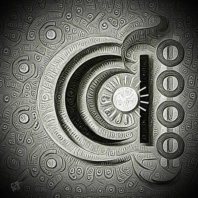 Inner Minds Art Print by Cj Grant