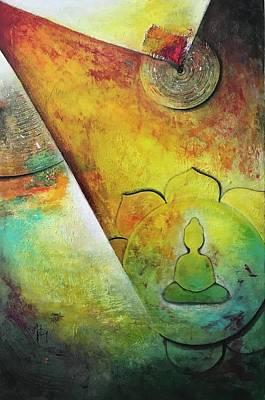 Self-realization Painting - Inner Self by Aarti Bartake