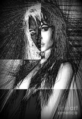 Digital Art - Inner Self by Rafael Salazar
