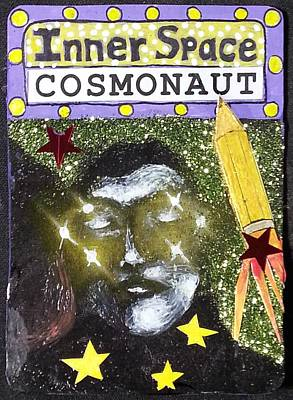Aceo - Inner Space Cosmonaut Original