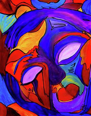 Mixed Media - Inner Space  by Romy Kelly