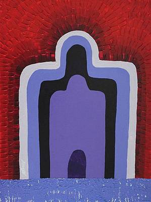 Painting - Inner Temple Original Painting by Sol Luckman