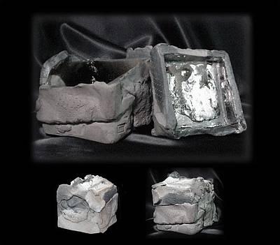 Ceramic Art - Inner Turmoil by Bates Clark