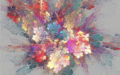 Digital Art - Inner Unfolding by Dwayne Jahn