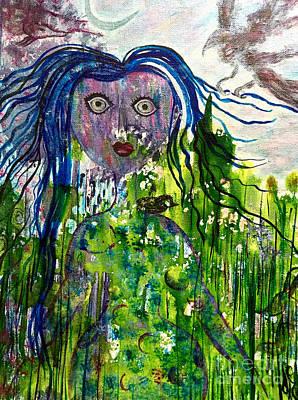 Painting - Inner Wild Woman by Julie Engelhardt