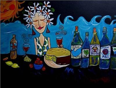 Inner Wine Lover  Original by Mellissa Meeks