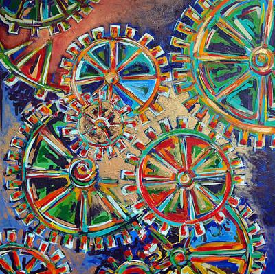 Inner Workings Original by Nancy Hilliard Joyce