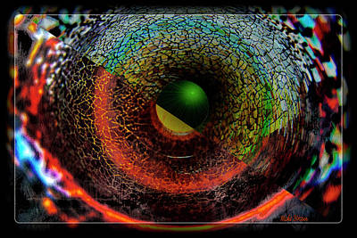 Digital Art - Innerstellar by Mike Braun