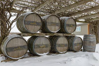 Niagara On The Lakes Inniskillin Winery Art Print