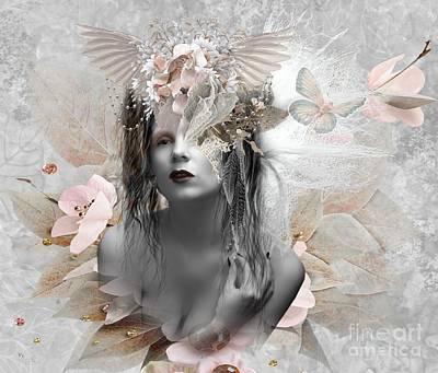 Digital Art - Innocence by Ali Oppy