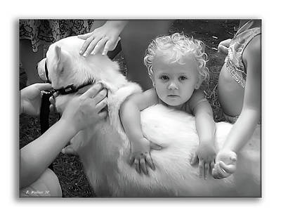 Innocence And Love Print by Brian Wallace
