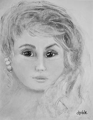 Luminous Drawing - Grace by Diane Noble