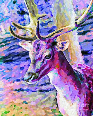Vibrant Painting - Innocence by GabeZ Art