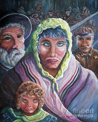 Painting - Innocence, Hope, Fear And Courage by Philip Bracco