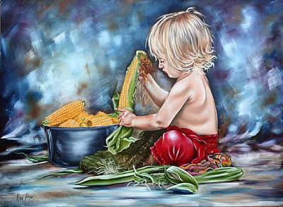 Innocence Art Print by Ilse Kleyn