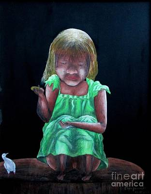 Painting - Innocent by Tamal Sen Sharma