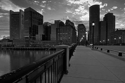 Photograph - Innovation District View Of Boston by Juergen Roth