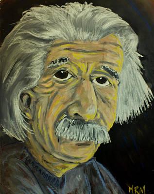 Emc2 Painting - Innovators - Einstein by Matthew McCurdy