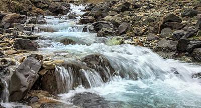 Photograph - Innra Hvannagil Gorge by Thomas Schreiter
