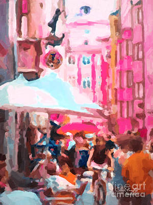Painting - Innsbruck by Chris Armytage