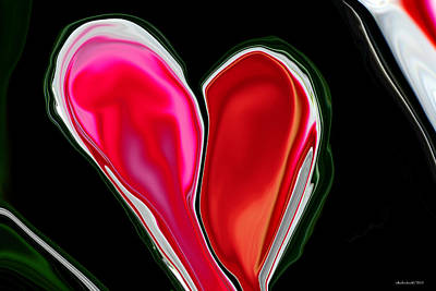Digital Art - Inpaitient Heart For Haiti by Michelle  BarlondSmith