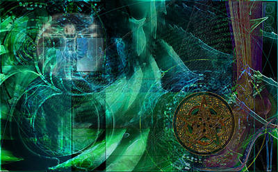 Digital Art - inPhinity by Kenneth Armand Johnson