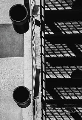 Photograph - Industrial Motif by Steven Milner