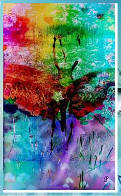 Insects And Incense Art Print