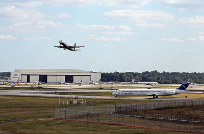 Photograph - Inselair Jet At Charlotte by Joseph C Hinson Photography