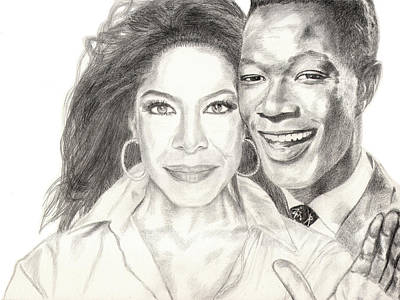 Drawing - Inseparable And Unforgettable by Lee McCormick