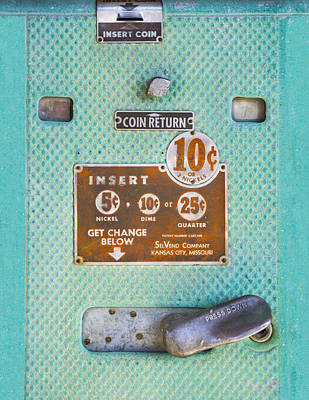 Art Print featuring the photograph Insert Coin by Christina Lihani