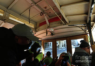 Photograph - Inside A Cable Car by Steven Spak