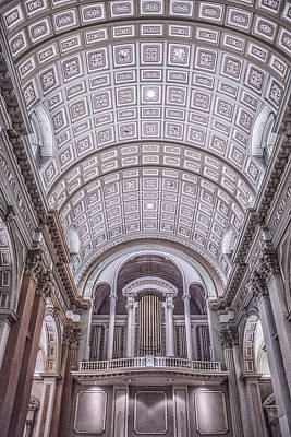 Photograph - Inside A Montreal Cathedral by Elvira Pinkhas