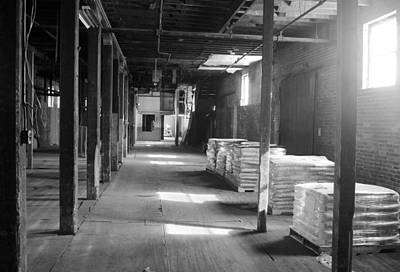 Photograph - Inside Adluh Warehouse by Joseph C Hinson Photography