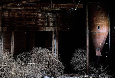 Photograph - Inside An Abandoned Mill by JC Findley