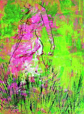 Painting - Inside And Out by Julie Hoyle