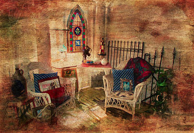 Digital Art - Inside Antique Store by Anna Louise